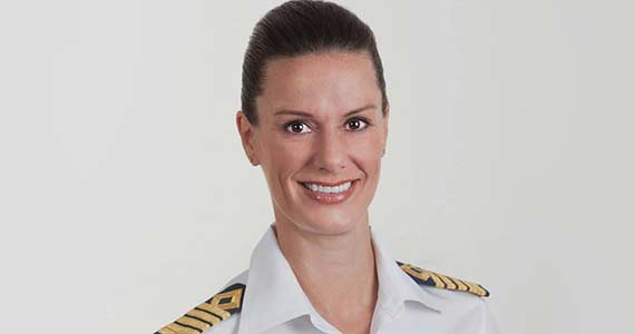celebrity cruises female captain