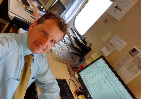 Giuliano De Cicco, Assistant Destination Manager for Oceania Cruises