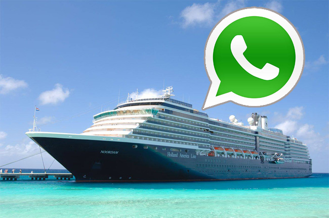 Holland America Line Enables Free Whatsapp Access For Crew Crew Center