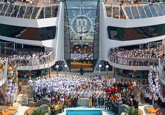 MSC Cruises is hiring thousands of crew and you can apply