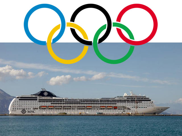 MSC Cruise Ship to Serve as a Floating Hotel for Tokyo Olympics