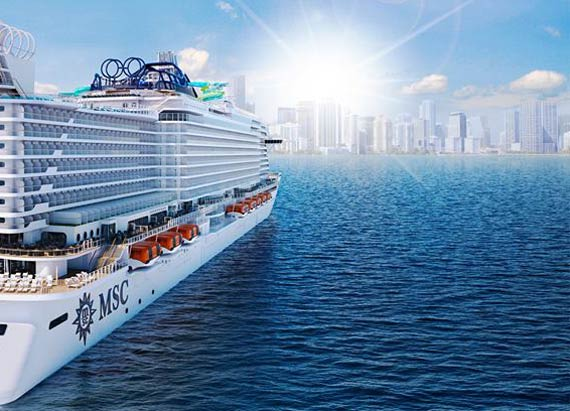 MSC Cruises will have a fleet of 25 cruise ships by 2026 ...