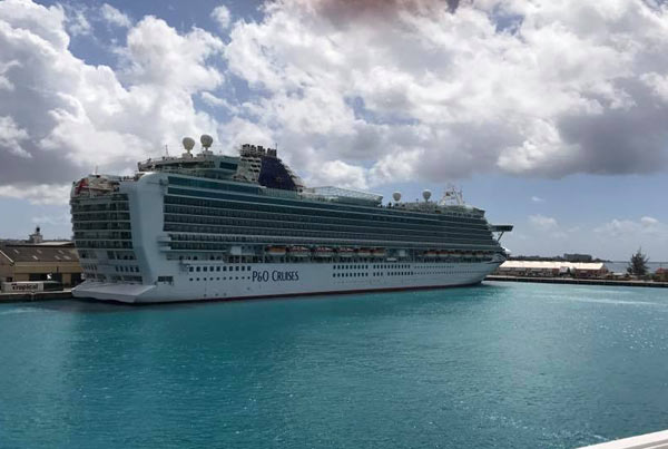 P Amp O Azura Cruise Itinerary 2019 And Sailing Calendar