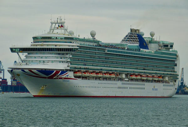 P Amp O Ventura Cruise Itinerary 2019 2020 And Sailing