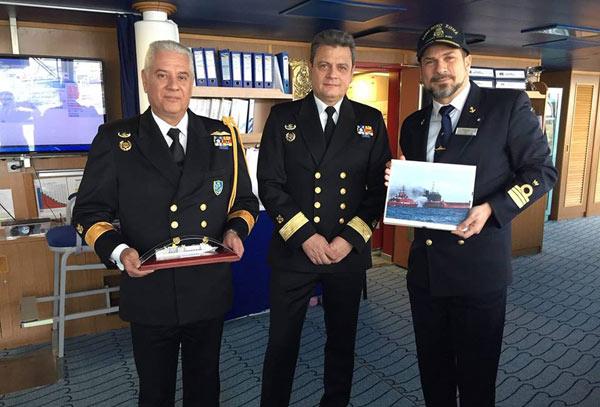 cruise ship captain award