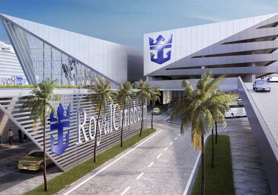 Royal Caribbean To Build New World Class Cruise Terminal In Miami Crew Center