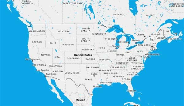 United States Cruise Ports Schedules 2018 Crew Center