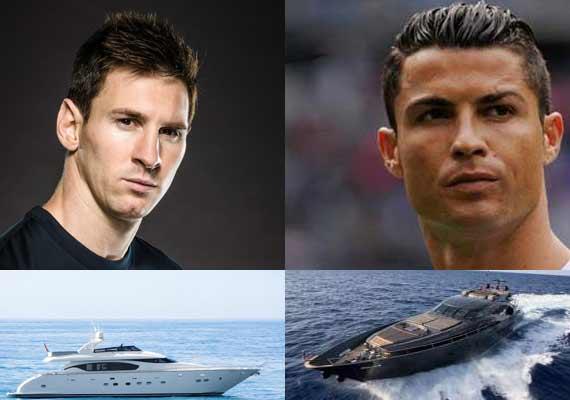 Messi And Ronaldo Yachts Meet In Ibiza Crew Center